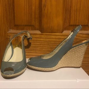 Michael Kors wedge heels (patent leather)